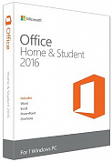 Microsoft Office Home & Student 2016 RUS, BOX