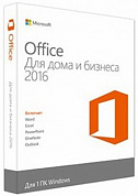 Microsoft Office Home & Business 2016 RUS, BOX