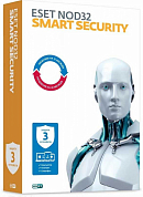 ESET NOD32 Smart Security, 3 Device на 1 год, Base/продление лицензии, BOX