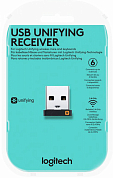 USB-приемник LOGITECH Unifying receiver, черный