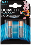 Батарейка AAA DURACELL Ultra Power, 1.5V (2 шт)