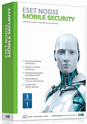 ESET NOD32 Mobile Security, 3 Device на 1 год, BOX