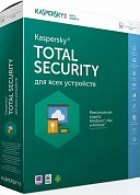 Kaspersky Total Security Multi Device, 2 Device на 1 год, Base, BOX